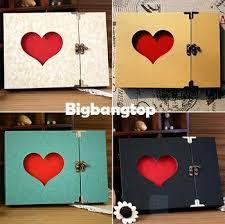 birthday photo album 1509 diy album birthday gift creative hollowed heart shape photo