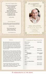 funeral program alexandria printable funeral program template memorial cards