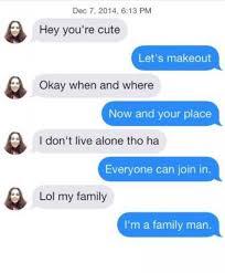 Making Out Meme - lets make out tinder chat ups