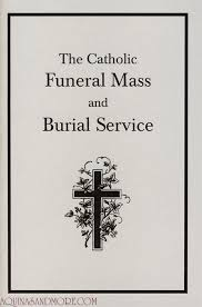 Funeral Booklets Catholic Funeral Mass And Burial Service Booklet