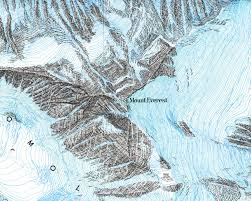 Mt Everest Map Topic Six Maps In Environmental Geology Environmental Issues