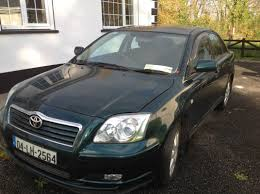 used toyota avensis 2004 petrol 1 6 dark green for sale in leitrim