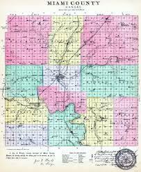 Kansas Counties Map Kansas History And Heritage Project Miami County Maps