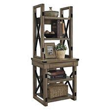 Industrial Metal Bookshelf Industrial Bookcase Rustic Wood Metal Bookshelves Freestanding