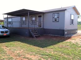 mobile home porch with ramp