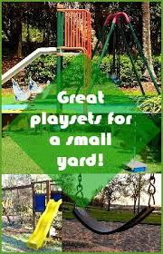 28 best playsets for small yards images on pinterest backyard