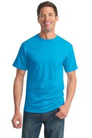 california blue jerzees heavyweight blend 50 50 cotton poly t shirt style 29m
