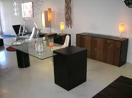 Glass Topped Computer Desk by Office Furniture Unique Orange Table Lamps And Hanging Bubble