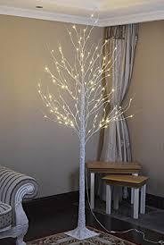 lightshare 132l led birch tree 8 home kitchen