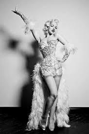 Vegas Showgirl Halloween Costume Rockabilly U0026 Pin Burlesque