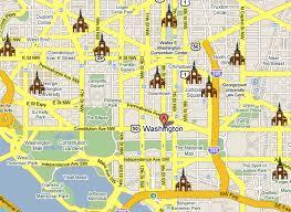 washington dc map puzzle daily catholic mass in downtown washington dc