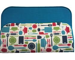 aliexpress com buy 40cmx46cm dish drying mat for kitchen