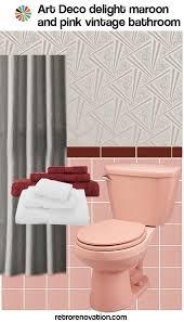 Bathroom Ideas Vintage Colors Best 25 Maroon Bathroom Ideas That You Will Like On Pinterest
