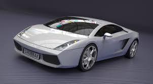 Lamborghini Gallardo Models - lamborghini gallardo 2005 3d model cgtrader