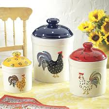 rooster canisters kitchen products rooster canisters kitchen products painted rooster 3