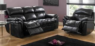black leather sofa recliner Leather Sofa Recliner Sale
