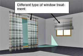 different window treatments how to match different types of window treatment in the same room
