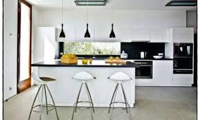 hotte cuisine suspendue cuisine suspendue top suspension ilot cuisine blanc incroyable