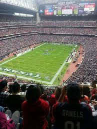 Houston Texans Stadium by Nrg Stadium Section 646 Home Of Houston Texans