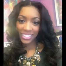 what type of hair does porsha stewart wear prior to her owning her own hair line ms porsha stewart of the