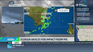 Weather Map Miami by Mike Seidel The Weather Channel Miami Beach Invest 99l 8 27 2016
