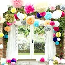 crepe paper decorations diy 6 easy handmade 5 projects