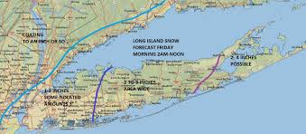 Map Of Rocky Point Suffolk Snow Long Island 2 3 Inches Overnight Weather Long Island