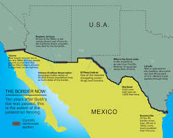 Tijuana Mexico Map Building Trumps Wall Mexicounited States Border Wikipedia Map Us
