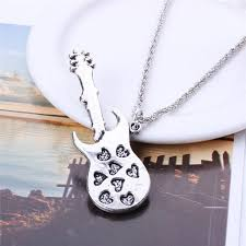 guitar necklace pendants images Brand stylish cool guitar pendant necklace jewelry fashionable jpg
