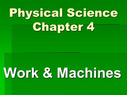 physical science chapter 4 ppt download