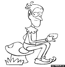 elf coloring page free elf online coloring