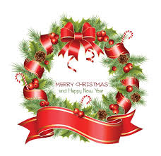 vector christmas wreath free vector graphics all free web