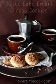 coffee cake cream cheese cookies on overtimecook cookies