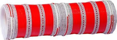 Wedding Chura Online Vivah Bridal Chura Plastic Diamond Chudas Price In India Buy