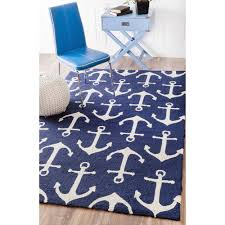Navy Blue Area Rug 8x10 Architecture Nautical Area Rugs X Sigvard Info