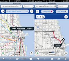 Maps Chicago Google by Replacing Ios 6 Maps Hands On With Mapquest Bing Waze Google