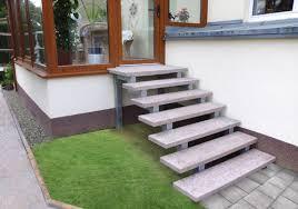 treppe auãÿen fimexo außentreppen aussen treppen freitragende außentreppen