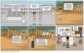 parthenon storyboard storyboard by mchllrb