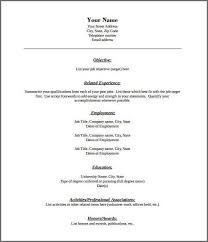 Attractive Resume Templates Functional Resume Template Pdf 21 Best Samples Of Resume For