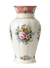 royal albert carlyle large vase 30cm royal doulton outlet