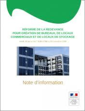 redevance bureaux réforme de la redevance bureaux en île de tcbce driea