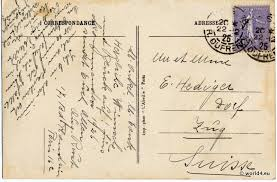 paris boulevard des italiens postcard 1926th lost and found