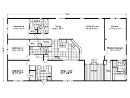 4 Bedroom Modular Home Floor Plans Fleetwood Mobile Home Floor Plans And Prices View Our Triple