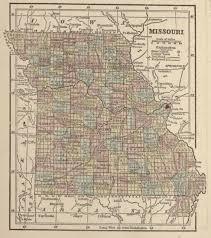 Map Missouri Historical Map Of Missouri Civil War Trust