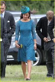 pippa middleton is pure class while attending the wedding of lady