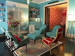 Radiant Blue Living Room Design Ideas Rilane - Red and blue living room decor