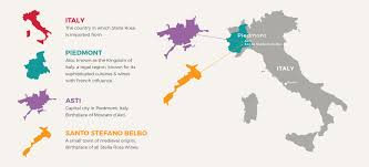 Piedmont Italy Map by Our Story About Stella Rosa Stella Rosa Wines Sweet Red Wines