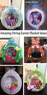 Homemade Easter Baskets by Best 25 Easter Baskets Ideas On Pinterest Easter Projects
