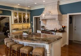 curved kitchen islands 16 impressive curved kitchen island designs