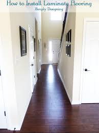 Dark Brown Laminate Flooring Contemporary Dark Brown Laminate Flooring For House With White